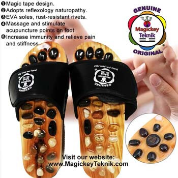 Sandales d'Acupression   Magickey Teknik®