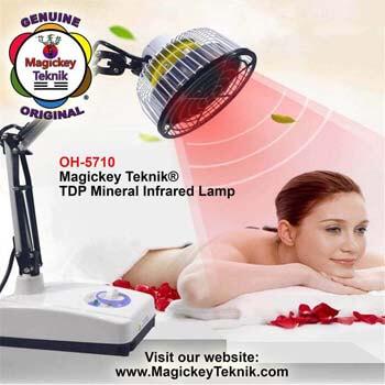Lampe Minérale Magickey Teknik® TDP (Vraie Infrarouge)