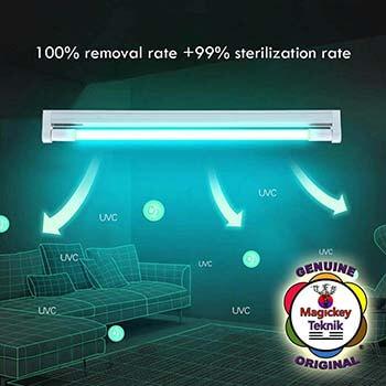 Lampes UVC germicides aux ultraviolets Magickey Teknik®