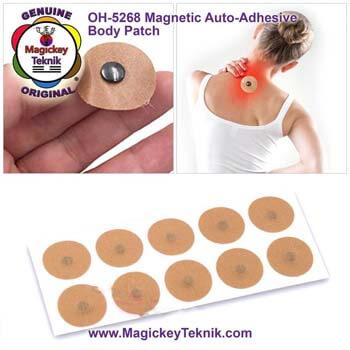 Les Patchs Bio-Magnétique auto-adhésives de Magickey Teknik®